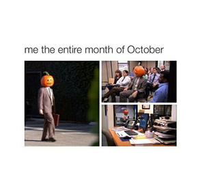 funny, Halloween, and autumn image