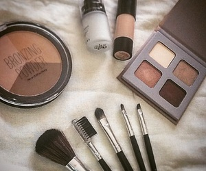 fall and makeup image