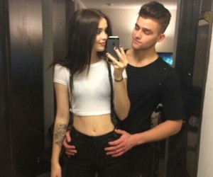 cute, couple, and acacia brinley image