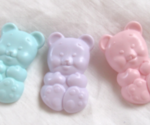 bear, pastel, and cute image