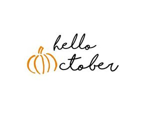 october, hello october, and autmn image