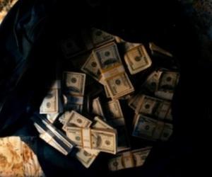 money, black, and dark image