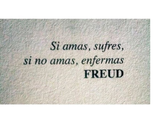 love, freud, and frases image
