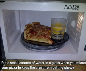 food, Microwave, and pizza image