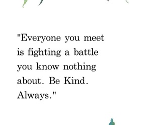 quote, skam, and be kind image