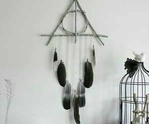 creativity, deathly hallows, and decoration image