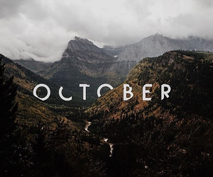 october, nature, and autumn image