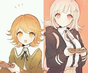 chihiro fujisaki, chiaki nanami, and game image