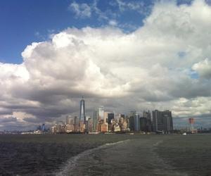 manhattan, new york, and skyline image