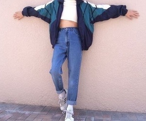90's, outfits, and shoes image