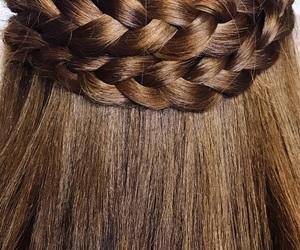 beautiful, braid, and braided image