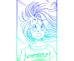 manga, manga girl, and dragon ball z image