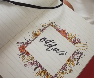 autumn, bullet, and drawing image
