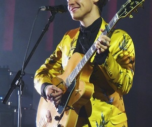 Harry Styles and guitar image