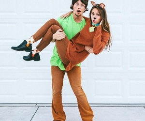 cool, costumes, and couple image