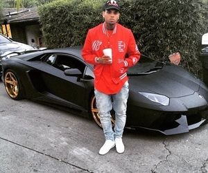 chris brown, car, and breezy image