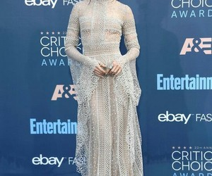 actress, aesthetic, and white dress image