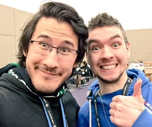 markiplier, jacksepticeye, and mark fischbach image