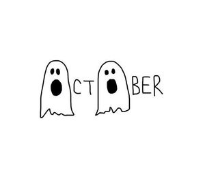 Halloween, october, and ghost image