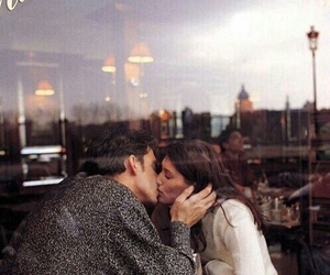 caffe, coffe shop, and couple image