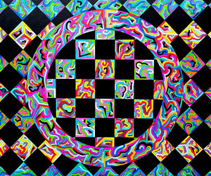abstract art, acid, and artist image