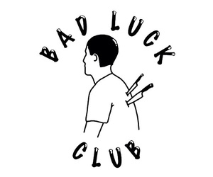 club, bad luck, and gif image