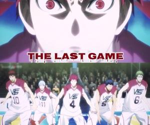 kuroko no basket, akashi seijuro, and last game image