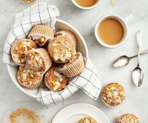 muffin, dessert, and sweet image
