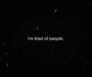 tired, people, and quotes image
