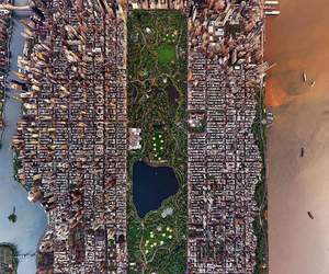 america, empire state, and new york city image