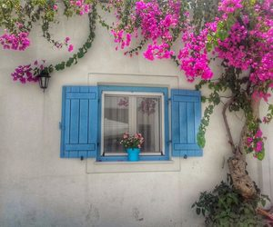 colourful, Island, and Greece image