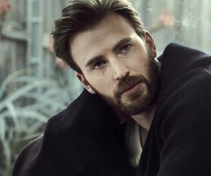 actor, captain america, and chris evans image