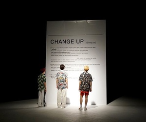 Seventeen, leader, and change up image