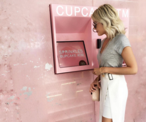 atm, love, and blonde image