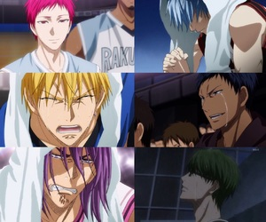 crying, kuroko no basket, and midorima image