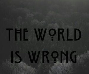 wallpaper, ahs, and quotes image