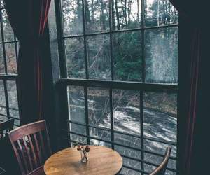 cafe, dark, and fall image