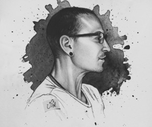 mike, linkin park, and chester bennington image