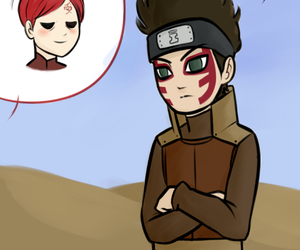 gaara, naruto, and shinki image