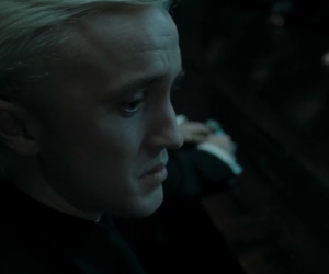 draco malfoy, slytherin, and hp image