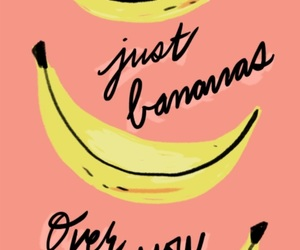 background, drawing, and banana image