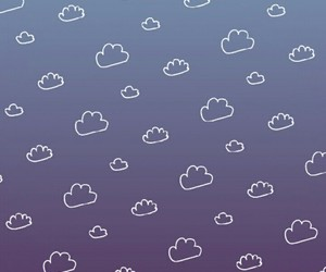 blue, cloudy, and wallpaper image
