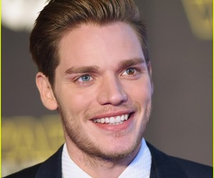 blonde, smile, and dominic sherwood image