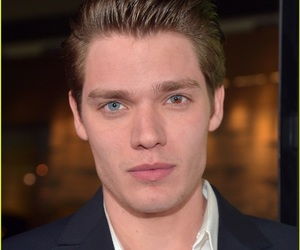 blonde, dominic sherwood, and blue eyes image