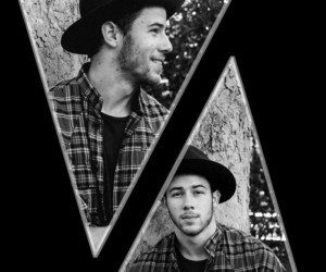 nick jonas, lockscreen, and nick jonas lockscreen image