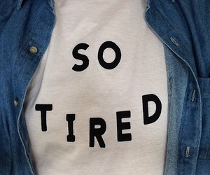 tired, grunge, and tumblr image