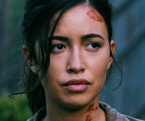 christian serratos and the walking dead image