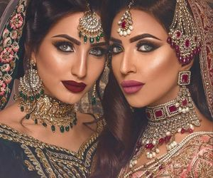 accessories, jewelry, and indian bride image