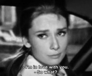 love, quotes, and audrey hepburn image