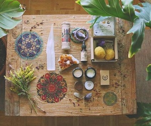 herbs, hippie, and magic image